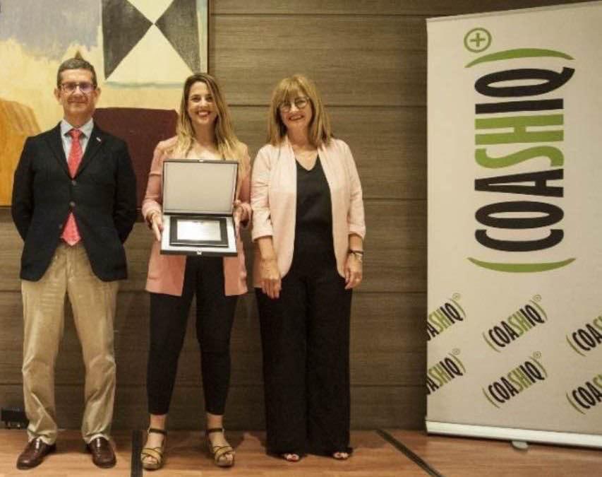 ASESA es galardonada de nuevo en los premios Coashiq a la no siniestralidad